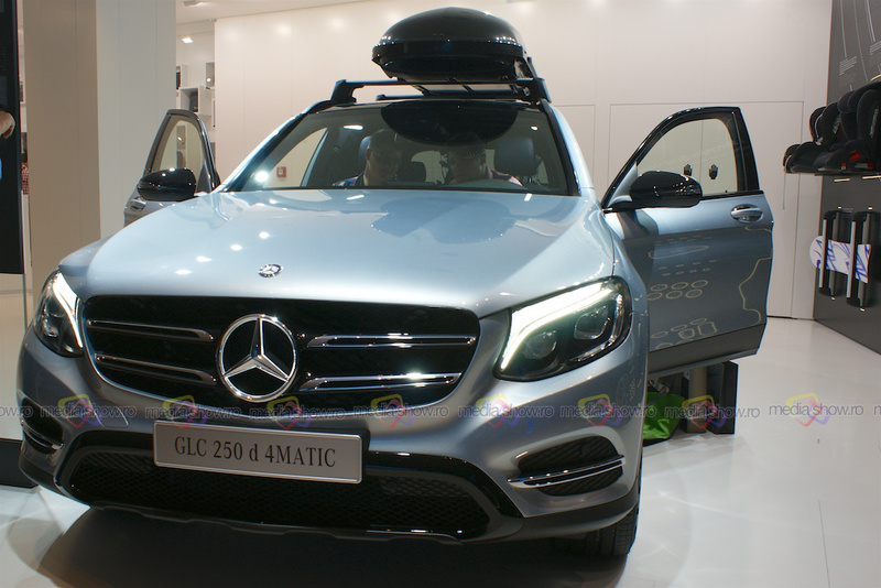 Mercedes-Benz GLC 250 d 4MATIC - Frontal View