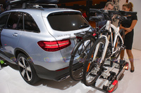 Mercedes-Benz GLC 250 d 4MATIC - Rear Angle View with Bicycle Support