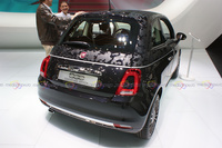 2016 Fiat 500 Camouflage Edition - Rear View