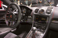 2015 Porsche Cayman GT4 - Steering Wheel and Central Console