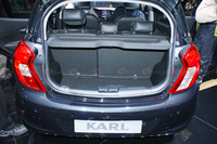 2016 Opel Karl - Rear View Trunk Load