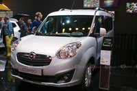 Opel Combo - Frontal View