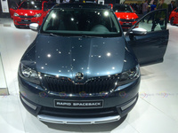 Skoda Rapid Spaceback - Frontal View