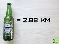 2016 - Fit Talerz - Heineken equals 2.88km