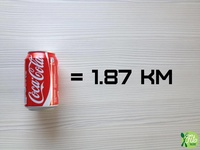 2016 - Fit Talerz - Coca-Cola equals 1.87km
