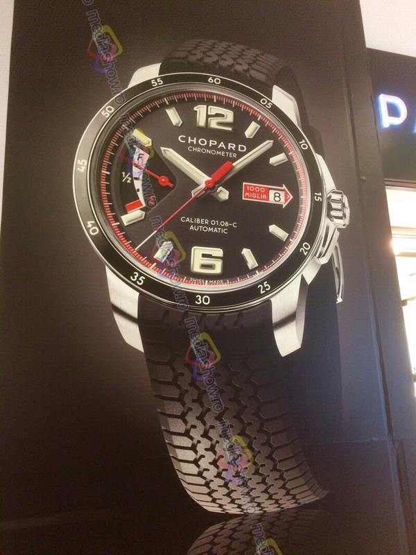 2016 - Chopard Watches - rubber (car tire) band