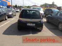 """Smart"" parking, isn't it?"
