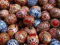 Painted Eggs, Bucharest, Romania