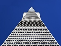 Transamerica Pyramid, San Francisco, California USA