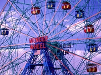 The Wonder Wheel, Coney Island, Brooklyn, New York