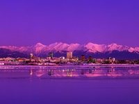 Anchorage - Skyline Evening