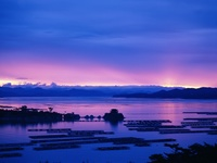 Ago Bay at Sunset, Mie Prefecture, Japan