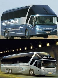 Neoplan Starliner vs Zonda a9