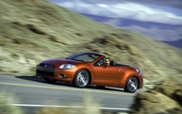2009 Mitsubishi Eclipse Spyder GT widescreen 01