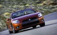 2009 Mitsubishi Eclipse Spyder GT widescreen 02