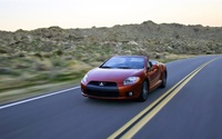 2009 Mitsubishi Eclipse Spyder GT widescreen 03